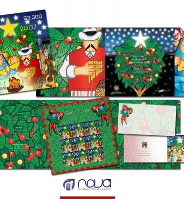 Emisión FIlatélica Navidad 2007